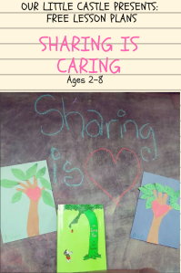 A Lesson Plan in Sharing For Toddlers and Elementary Students