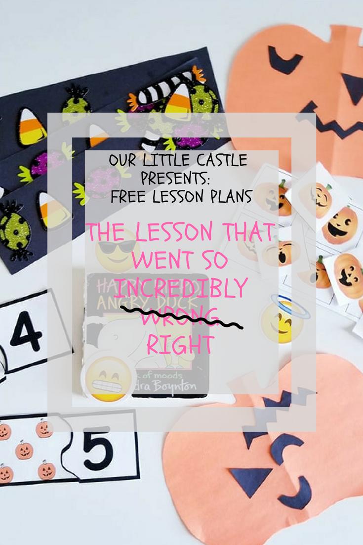 Our Little Castle Presents- Lesson Plans (10)