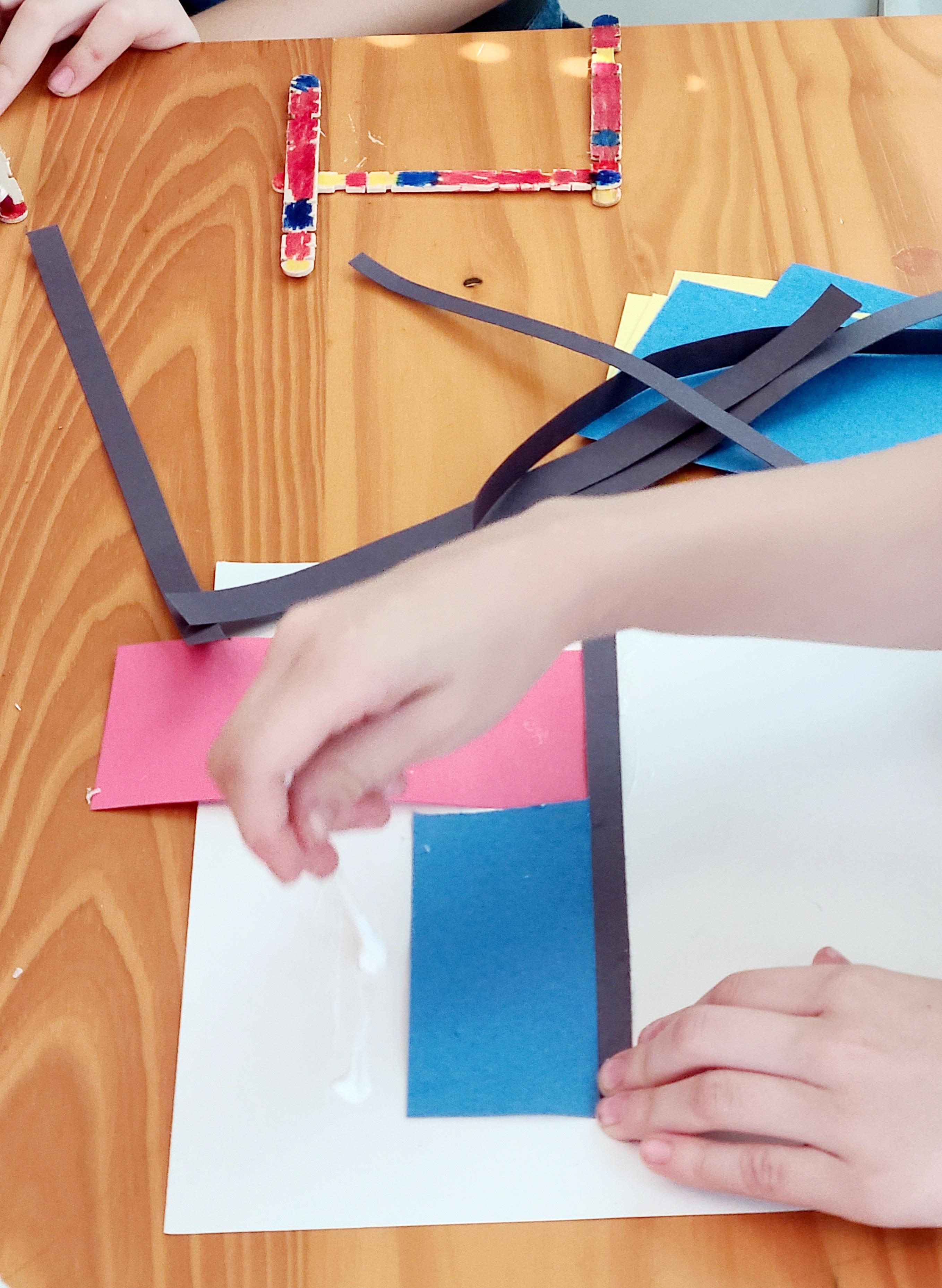 Piet Mondrian Activities